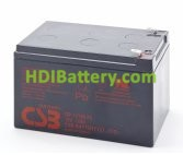 Bateria de Plomo GP12120 CSB 12 Voltios 12 Amperios